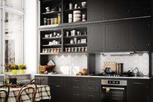 These Are the Only 4 Things You Should Consider Storing in Open Cabinets
